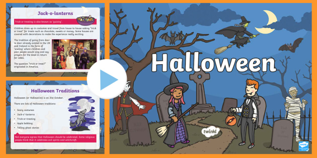 Halloween Informative PowerPoint - halloween, information, info