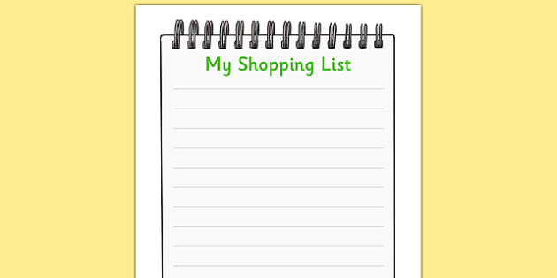 Farm Shop Role Play Shopping Lists - Farm Shop Role Play, Role - shopping lists
