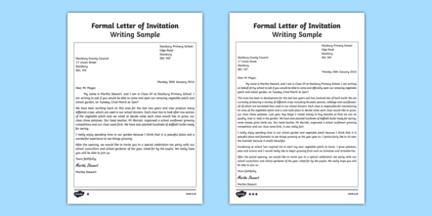 Editable Invitation Template Ks1 Writing An Invitation Ks2 | Newpapers.co