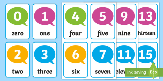 FREE! - Number Digit Cards 0-30 - math, numeracy, digit card, number