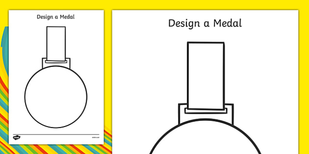 FREE! - Design a Medal - Olympics, Olympic Games, sports, Olympic