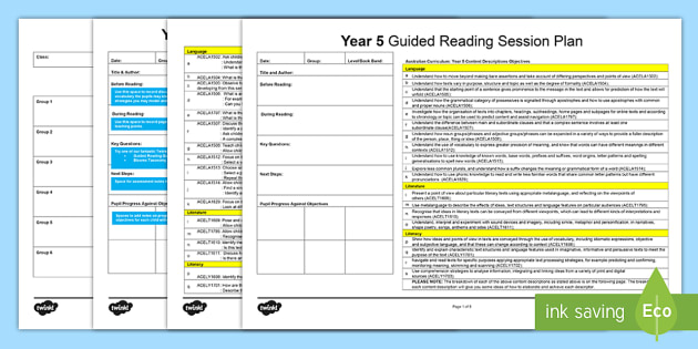 Guided Reading Planning Templates - guided reading, reading, guided