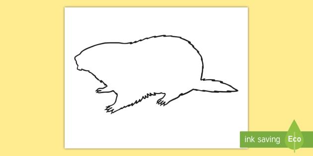 Groundhog Shadow Puppet Template - groundhog day, groundhog, tradition