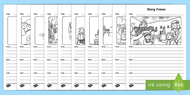 Picture and Story Writing Template - writing template