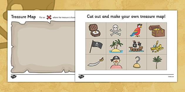 Luxury treasure map template ks1 component resume template treasure map template ks1 costumepartyrun maxwellsz