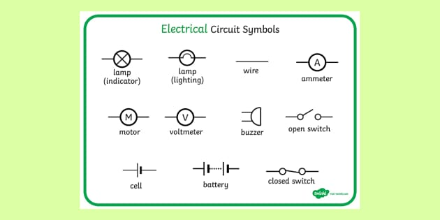 Circuit Diagram In Word Electronic Schematics collections