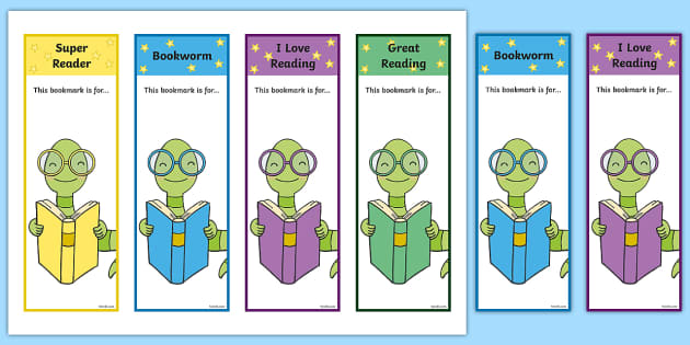 Bookmark Templates - Primary Resources