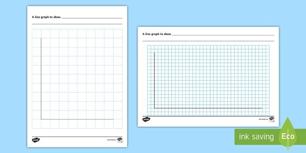 Line Graph Template Worksheet / Worksheet - handling data
