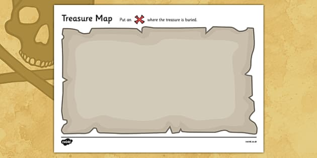 FREE! - Create Your Own Treasure Map - treasure, map, pirate, design