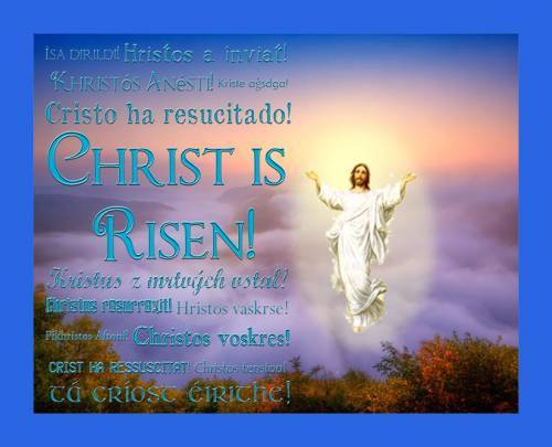 Good Afternoon Wallpaper With Quotes Christ Has Risen Easter Graphics For Facebook Tagged