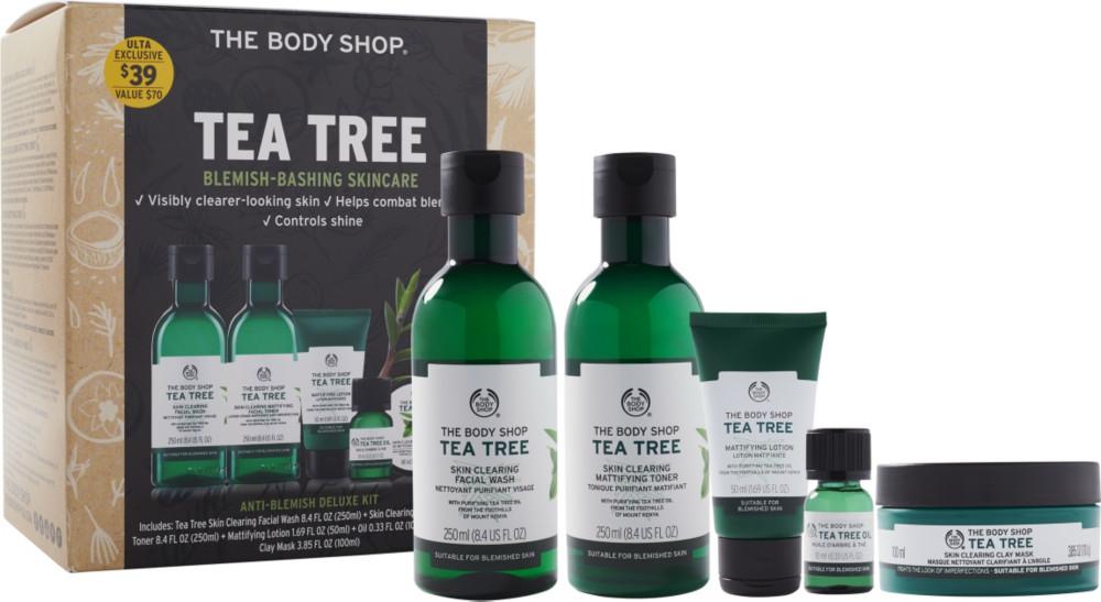 The Body Shop Tea Tree Anti Blemish Deluxe Kit Ulta Beauty