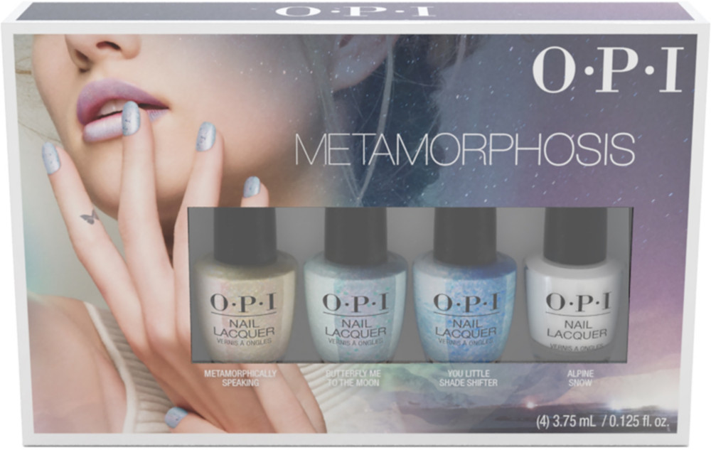 Opi Metamorphosis Ethereal Nail Lacquer 4 Mini Pack Ulta