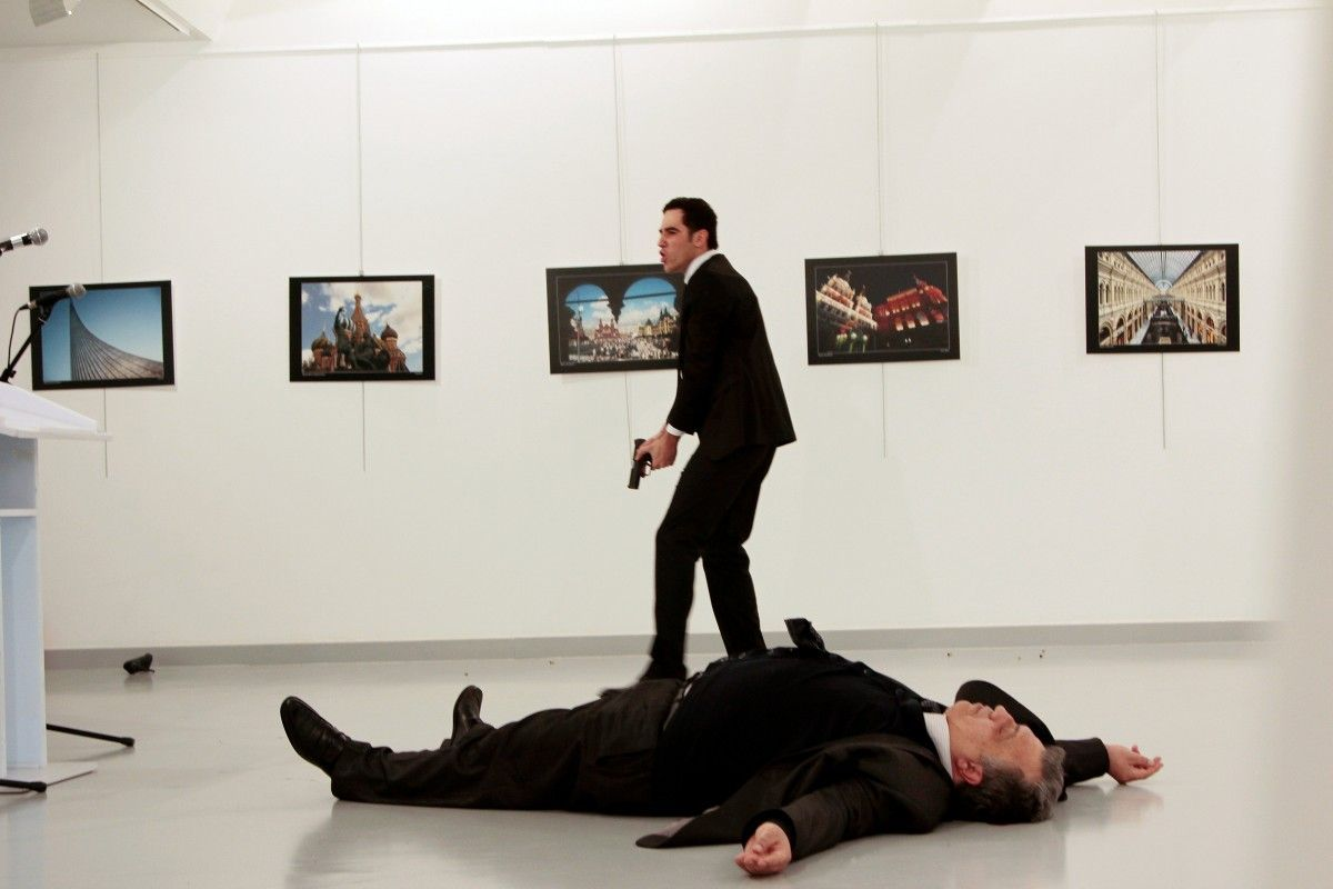 Organizer 2016 Turkey Arrests Organizer Of Exhibit Where Russian Envoy Was Killed