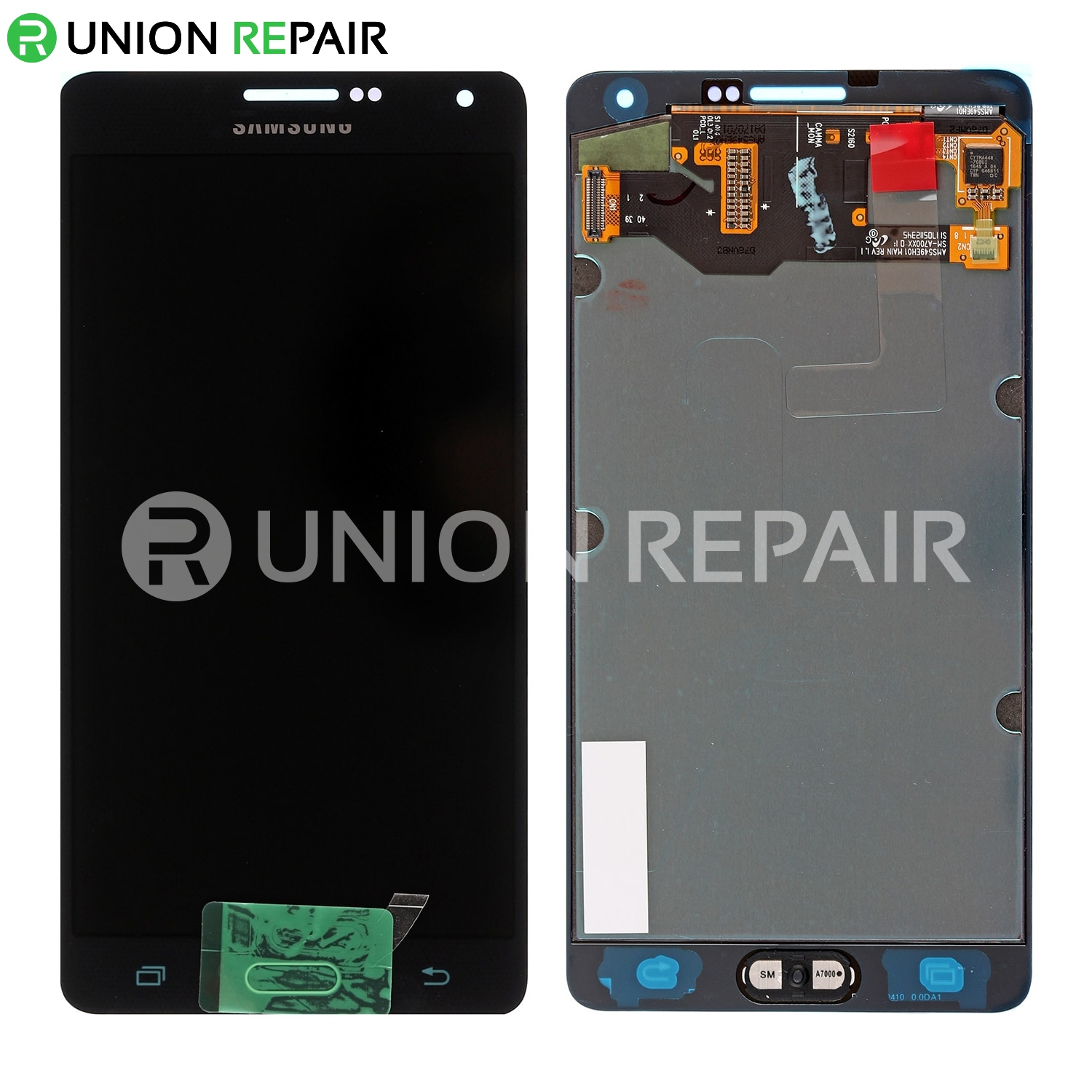Samsung Screen Replacement For Samsung Galaxy A7 2015 Sm A700 Lcd Screen With Digitizer Assembly Black