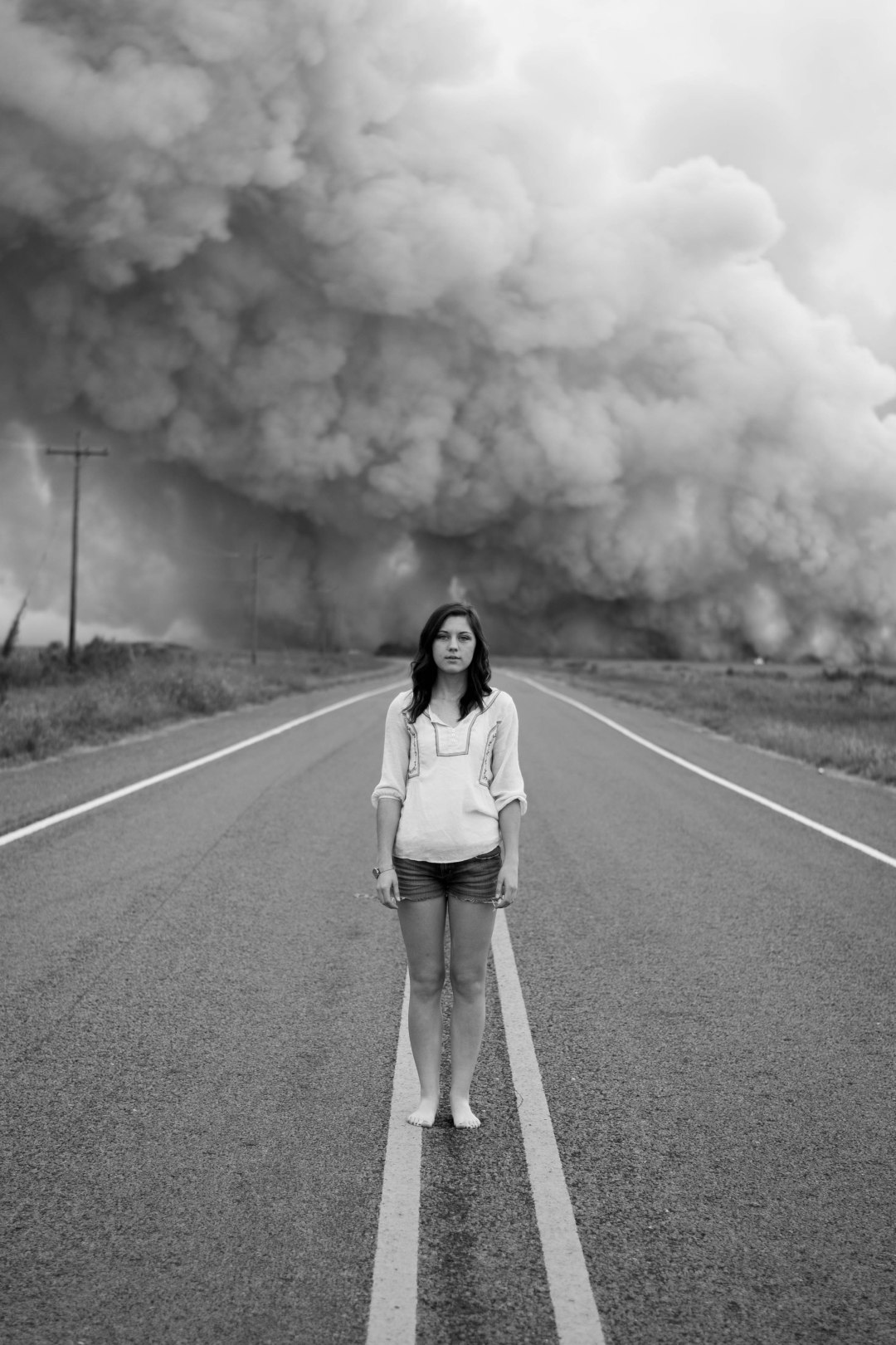 Cute Girl Wallpapers For Woman And Road Smoke Cloud Photo By Morgan Sessions