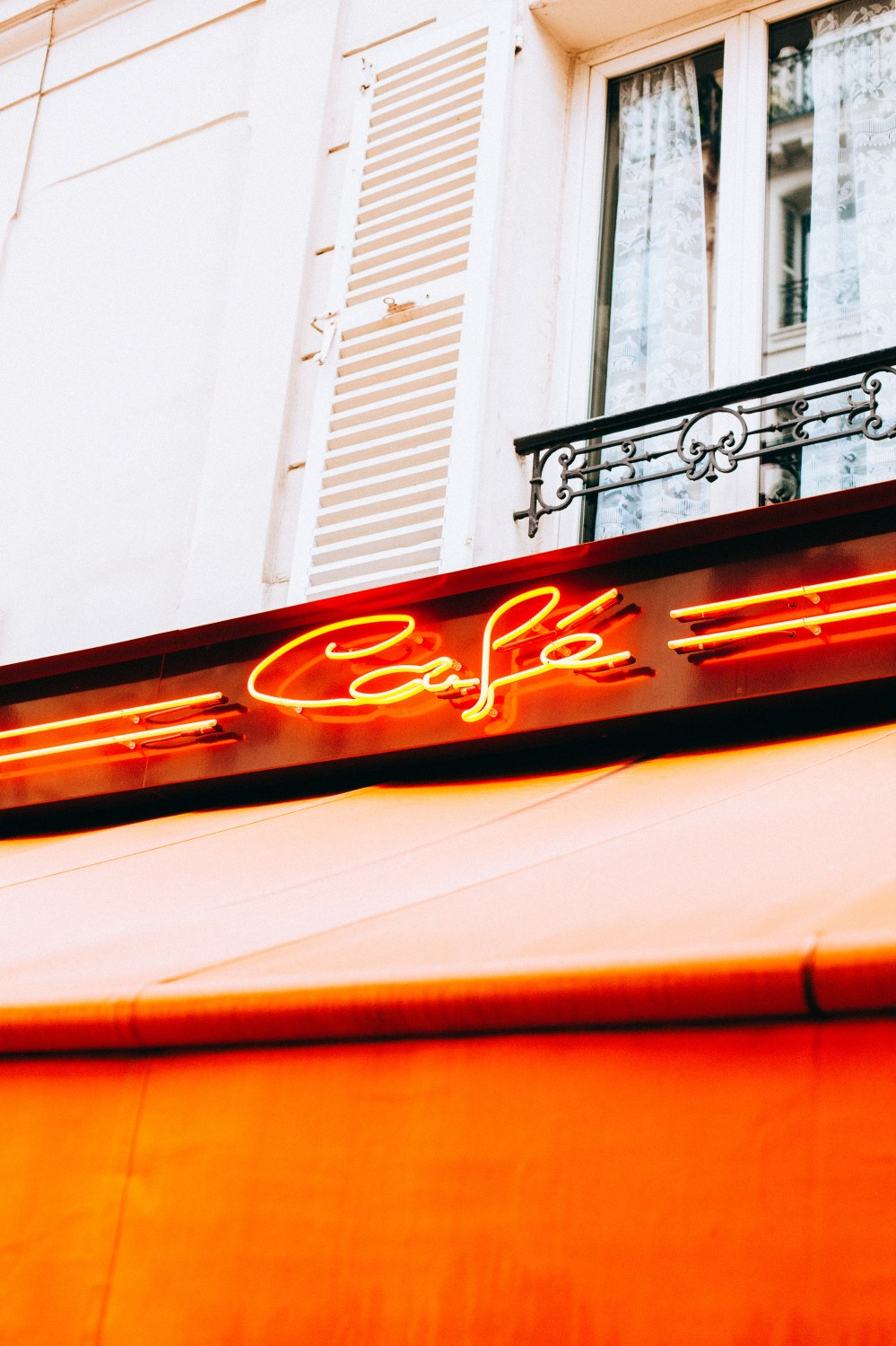 Lamp Paris, France, Neon And Lights | Hd Photo By Oliver Cole
