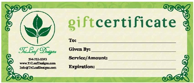 Business Gift Certificates - UPrinting