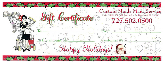 Business Gift Certificates - UPrinting - gift cards for business