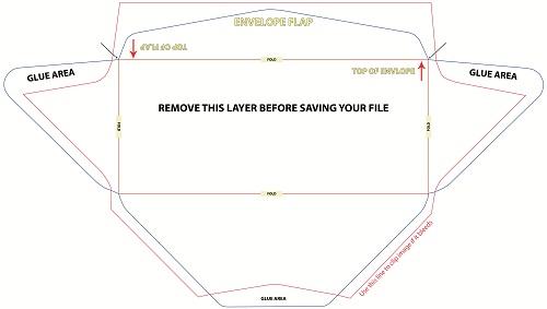 tithe envelopes template - envelope printing template
