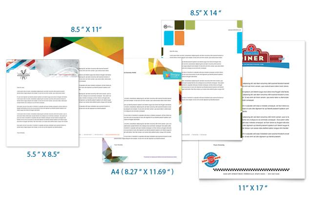 Letterhead Sizes Custom Letterhead Printing UPrinting