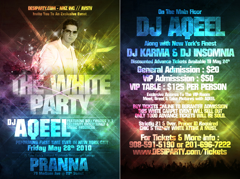 Quality Party Flyers Printing - UPrinting
