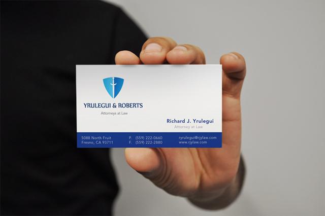 Professional Lawyer Business Cards Design Examples - UPrinting - business card sample