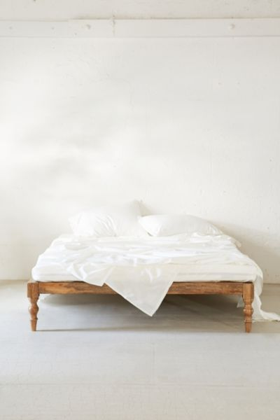 Boho Bed Frame Bohemian Platform Bed Urban Outfitters