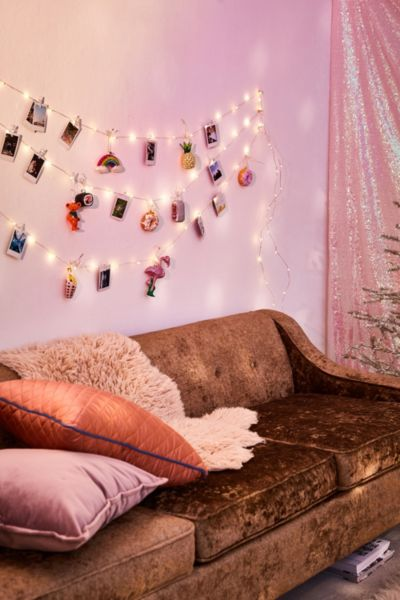 Galaxy Marble Photo Clip Firefly String Lights | Urban Outfitters