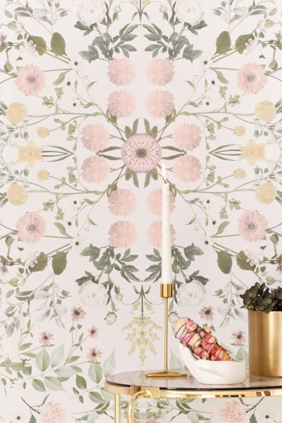 Daniella Floral Removable Wallpaper | Urban Outfitters