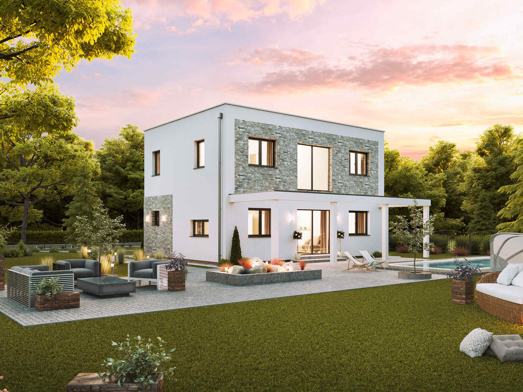 Flex Haus Family Flex Vario Haus Prefabricated Houses