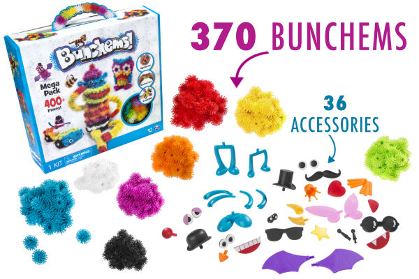 Bunchems Mega Pack Squish Create And Connect