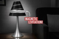 Levitating Lamp by Levitron
