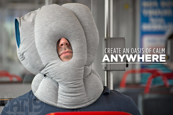 The Ostrich Pillow Nap Anywhere Anytime
