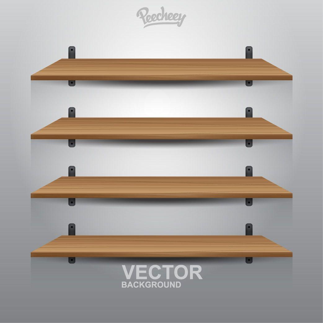 4 interior wooden shelves download large image 1042x1042px