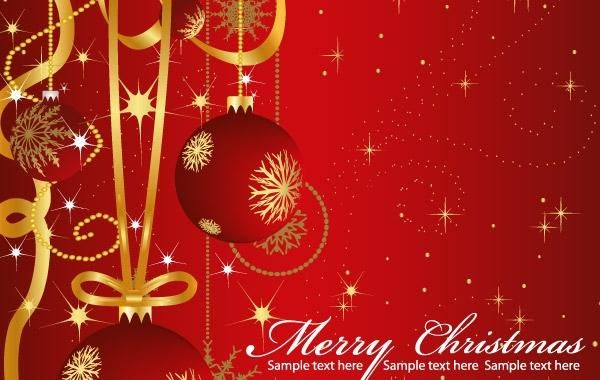Vector Christmas Greeting Cards - Vector download