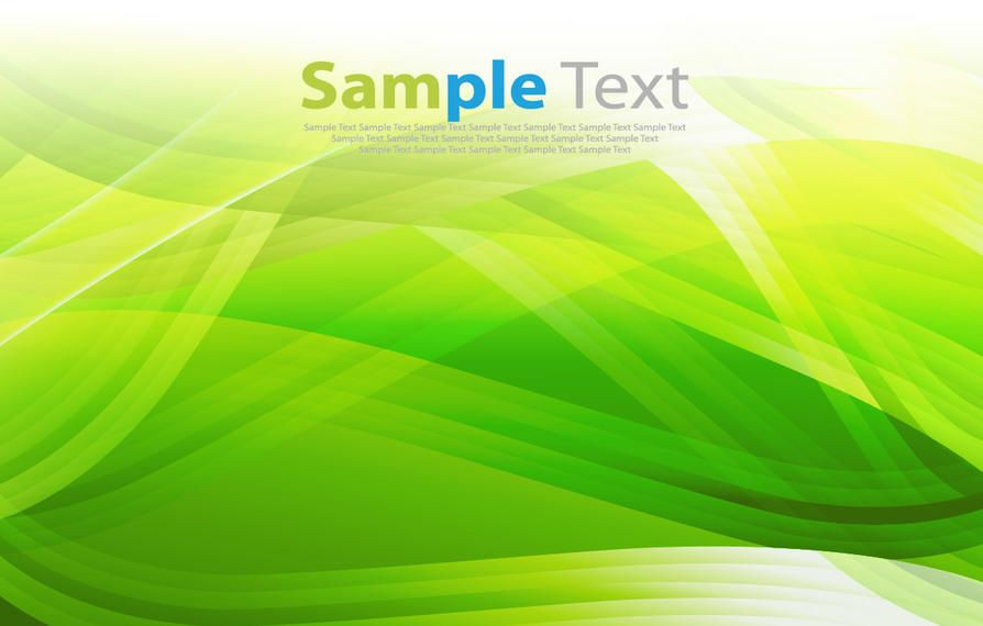 Fluorescent Piles of Green Waves Background - Vector download