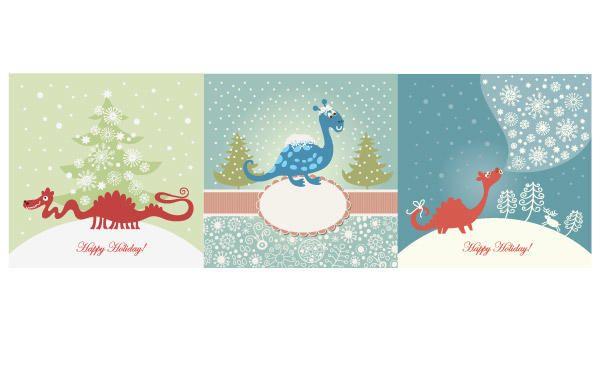 Cartões do Natal - Baixar Vector