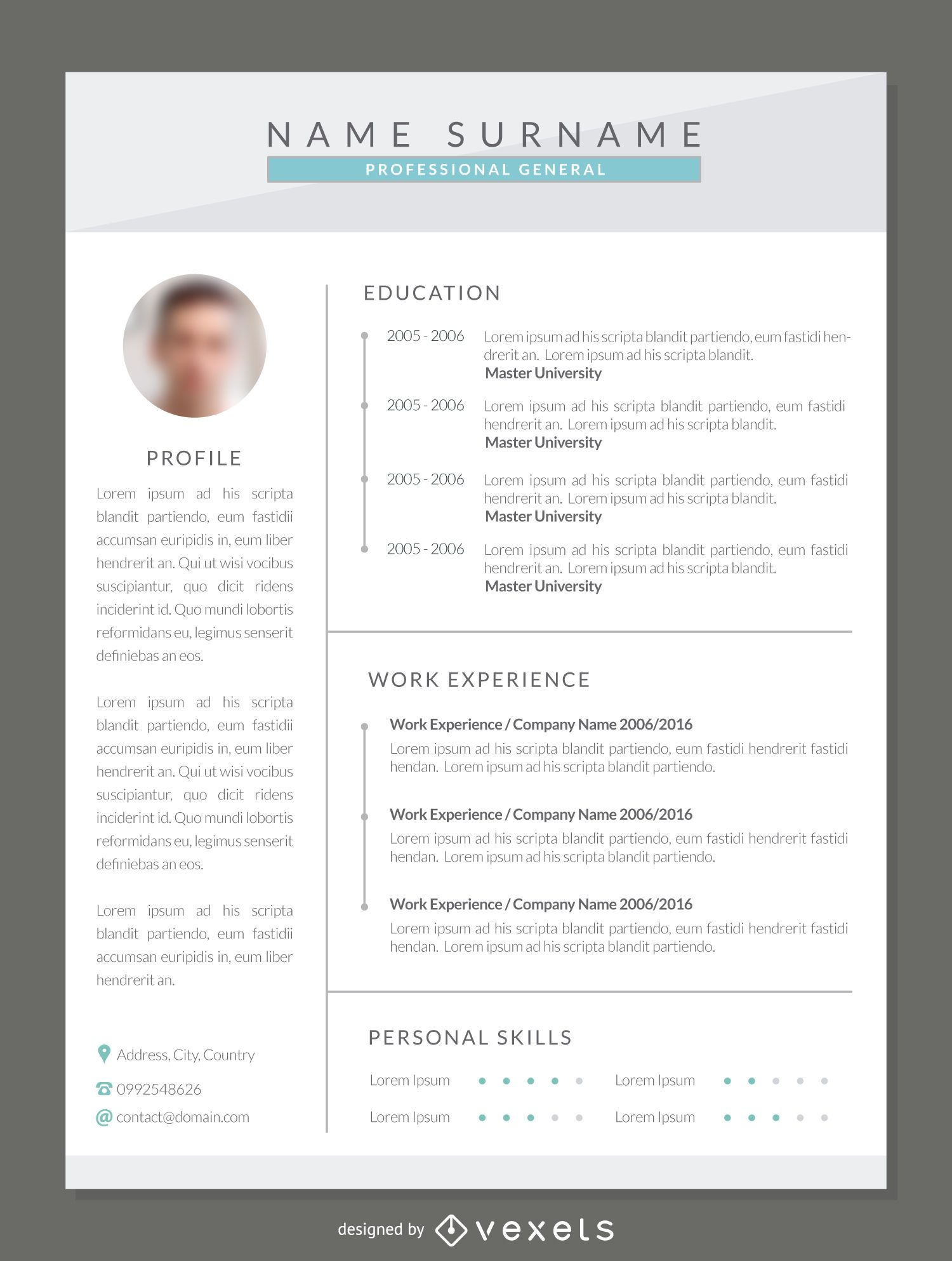 20 Best And Worst Fonts To Use On Your Resume Design School Modern Resume Mockup Template Vector Download