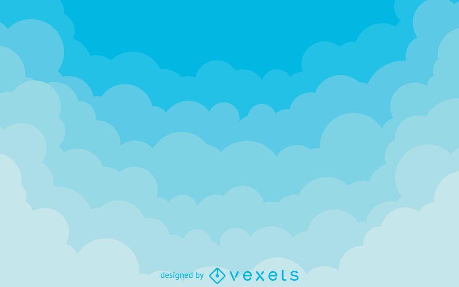 fondo nubes - Tikirreitschule-pegasus - fondo nubes
