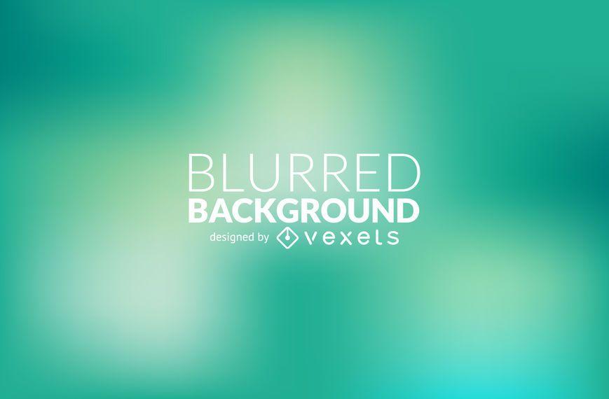Green gradient blur background - Vector download