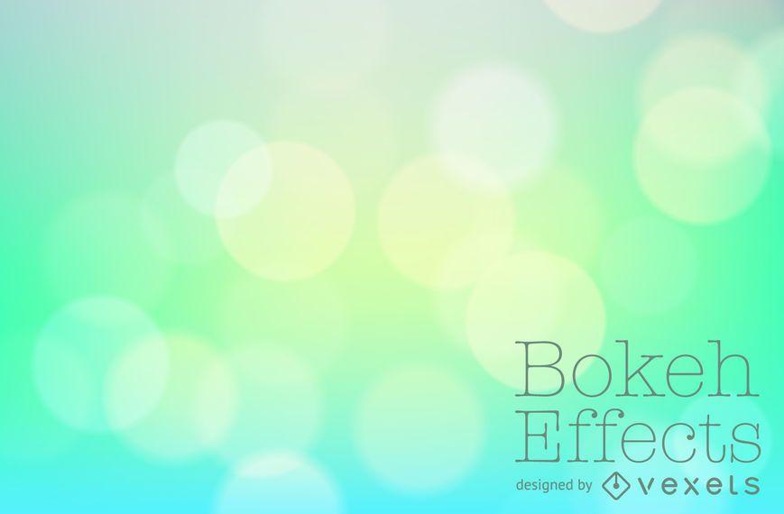 Green blue gradient bokeh backdrop - Vector download