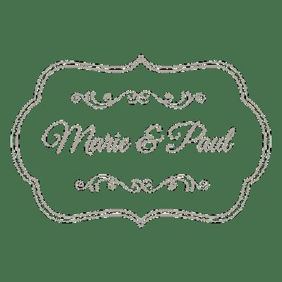 Decorative wedding invitation badge 7 - Transparent PNG ...