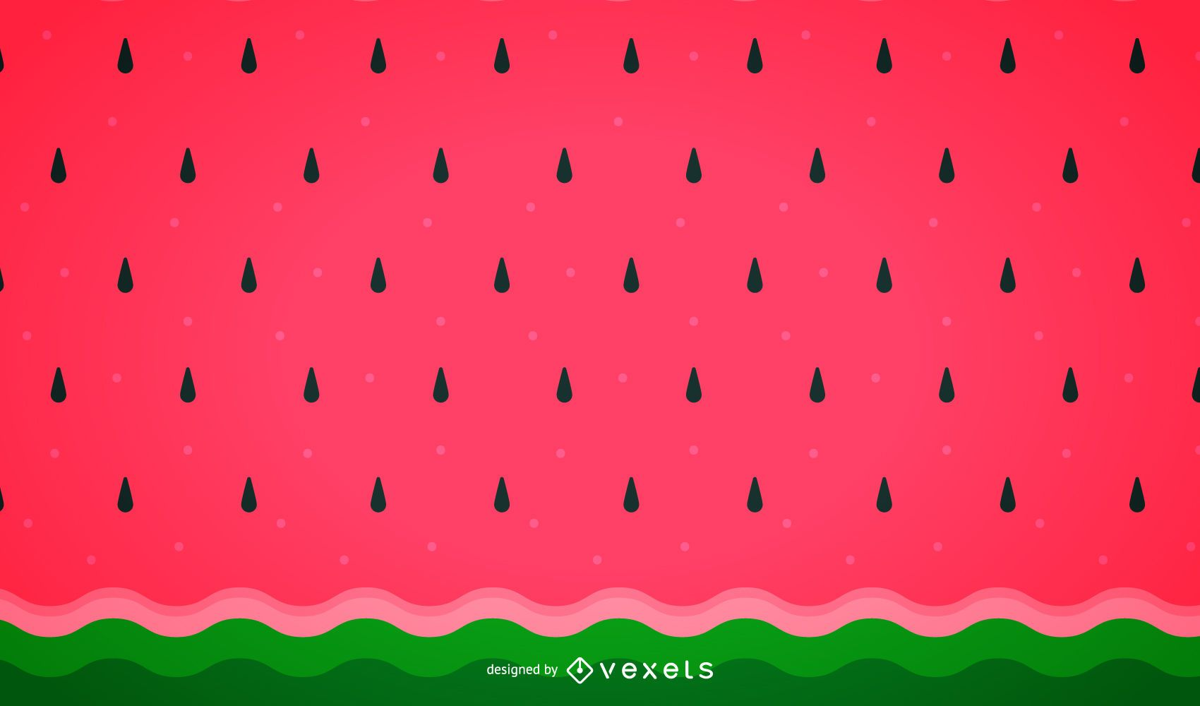 Watermelon Wallpaper Cute One Minimalist Watermelon Background Pattern Vector Download