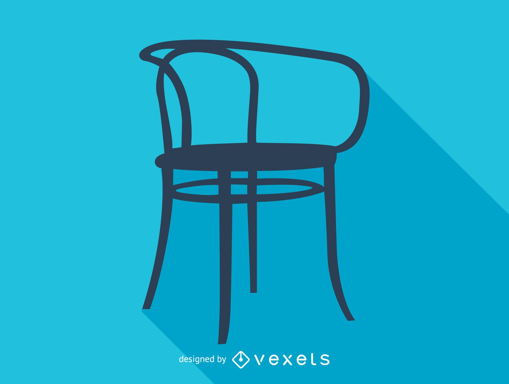 Thonet Jobs Otto Wagner Thonet Chair Silhouette Vector Download