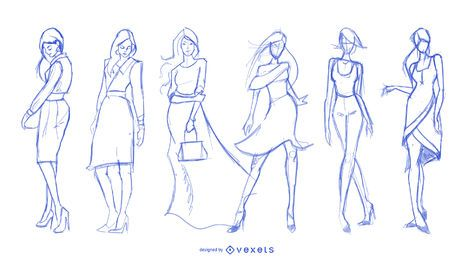 Fashion Vector  Graphics to Download