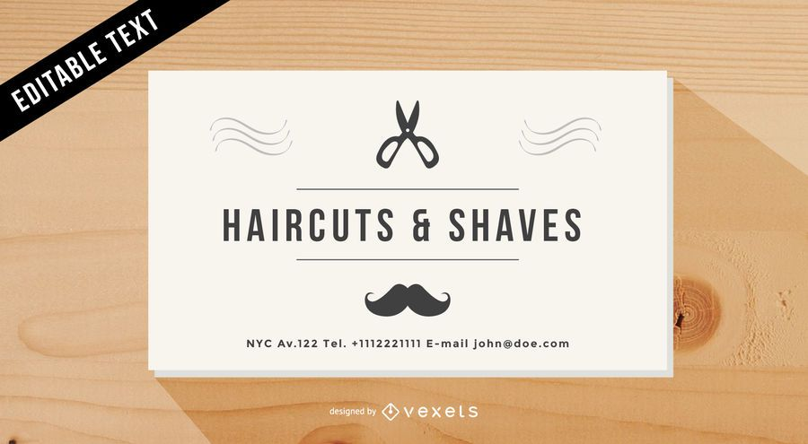 Vintage barber shop business card vector download37 beautiful vintage barber shop business card vector download friedricerecipe Image collections