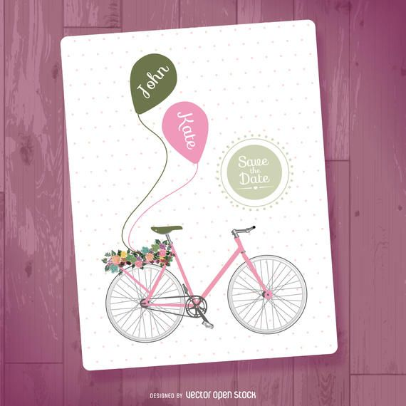 Save the date template - Vector download