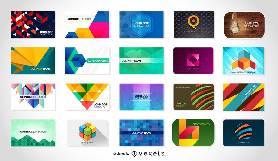 Free vector business card templates - Vector download