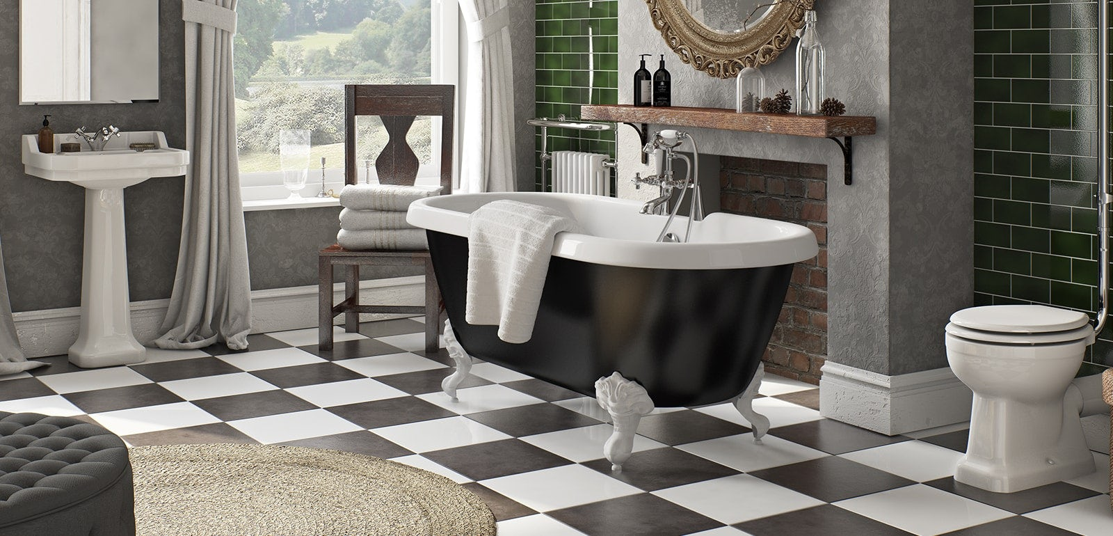 6 Fun Ideas For Bathroom Floors Victoriaplum Com