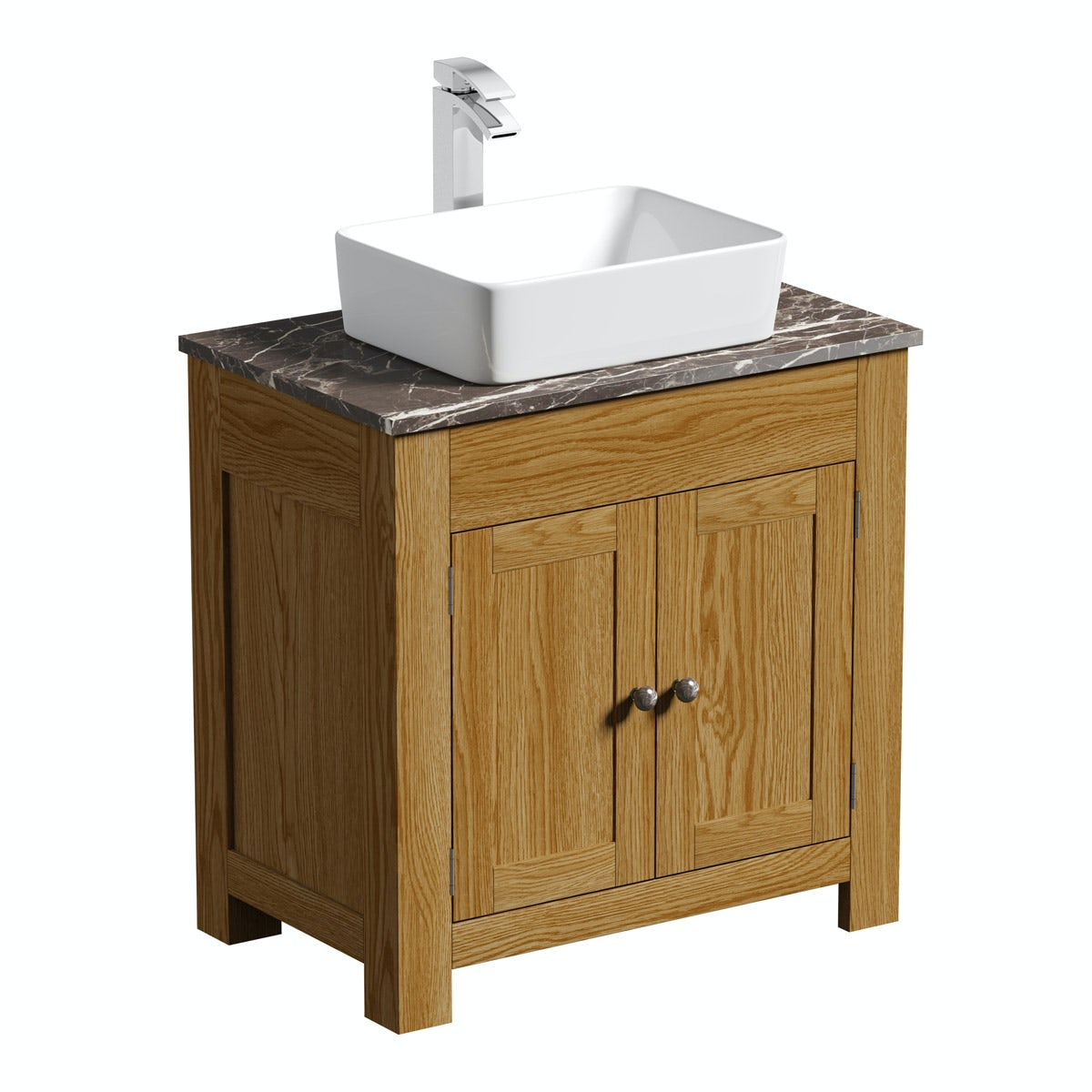 Marble Basin Countertop The Bath Co Chester Oak Washstand With Brown Marble Top